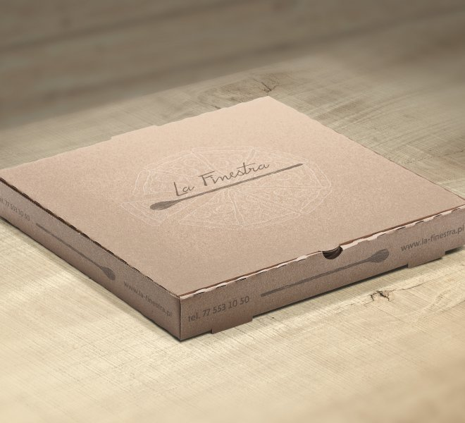 Pudełko - pizza LaFinestra